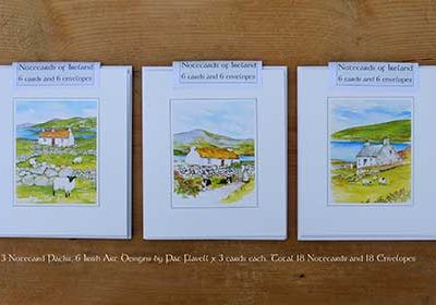 Ireland Art - Irish Art notecard packs