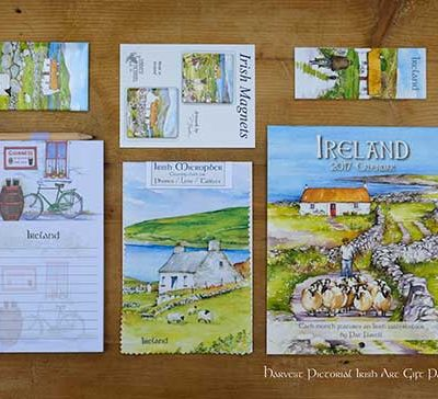 Ireland Art Gift pack by Irish artist Pat Flavell